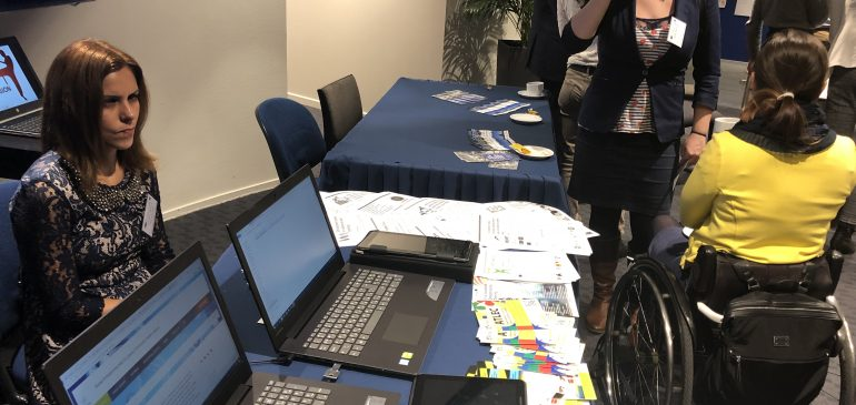 ZGURA-M team demonstrated the SEYMM outcomes during the European Day of Persons with Disabilities conference